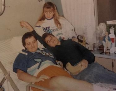 Mom, My Brother Greg, and Sister Nicki
