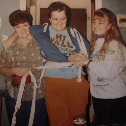 Aunt Donna, Mom, and My Sister Nicki