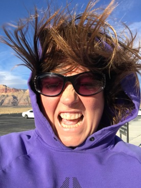 It was a little windy